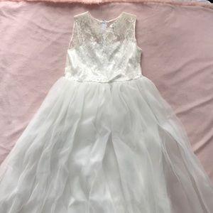 Other - Girls White Communion/Flower Girl Dress